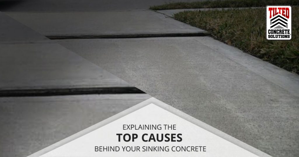 Sinking Concrete Happens. Learn why concrete slabs sink and settle