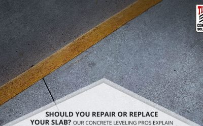 Should You Repair Or Replace Your Slab? Our Concrete Leveling Pros Explain
