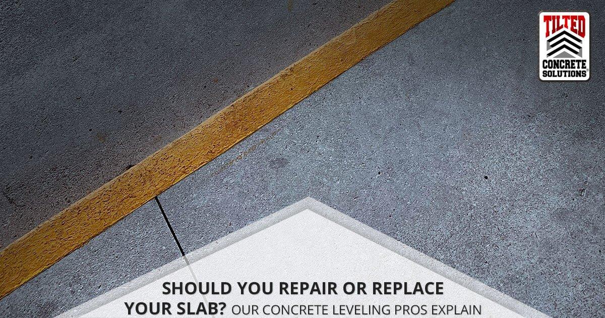 Repair Or Replace Concrete?