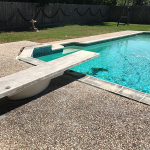 level Pool Deck After